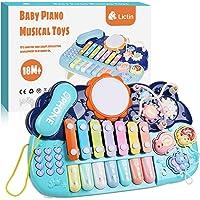 Lictin Giocattolo Educativo Musicale per Pianoforte per Bambini - Strumenti Musicali con Adorabili Suoni e Luci Tastiera…