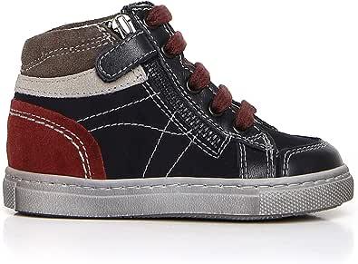 Nero Giardini A724352M Sneakers Kids da Bambino in Pelle, Camoscio E Tela