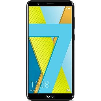 """Honor 7X Smartphone, Nero, 64GB Memoria, 4GB RAM, Display 5.93"""" FHD+, Doppia Fotocamera 16+2MP [Italia]"""