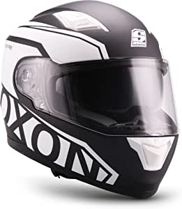SOXON Motorbike Helmet Yellow Medium 57-58 cm
