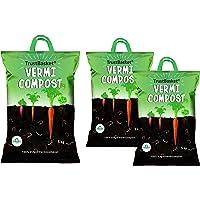 TrustBasket Organic Vermicompost Fertilizer Manure for Plants - 5 KG and Trust Basket Organic Vermicompost Fertilizer…