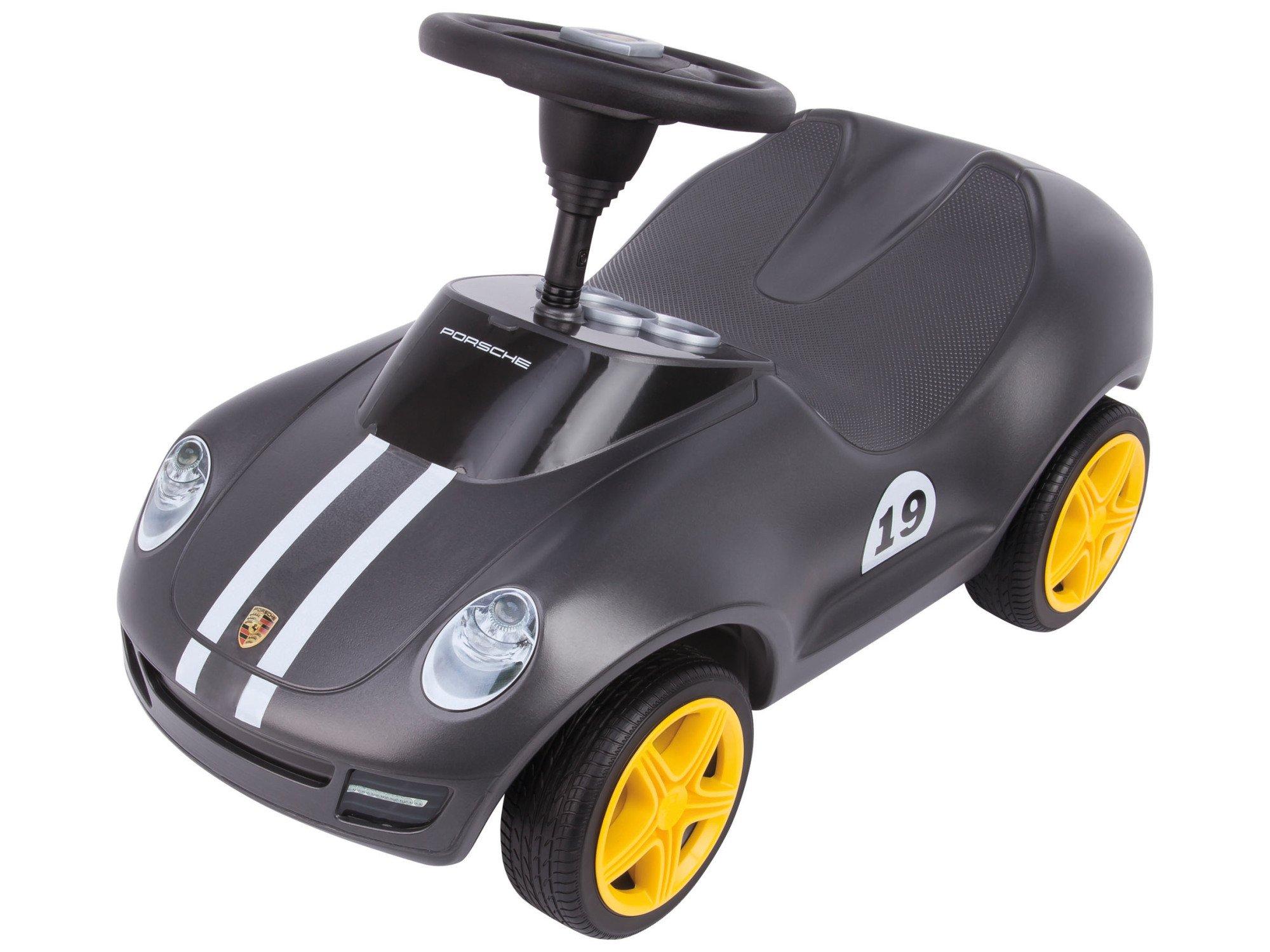 BIG - Baby Porsche - Designt von den Porsche Design Studios, mit breiten Flüsterreifen und griffigem Lenkrad, Rutscher…