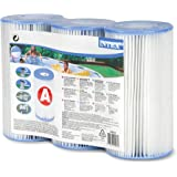 Intex Lot de 3 Cartouches filtrantes Type A pour piscines