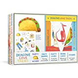 Dragons Love Tacos Party-in-a-Box: Includes Fold-Out Game, Banner, and 20 Sticker Sheets
