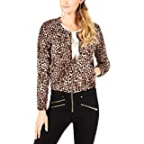 Guess | Leopard Print Bomber Jacket | Spotted Bengal