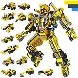 LUKAT Roboter Bausteine Spielzeug für Jungen 6 7 8 9 10 Jahre Gebäude Konstruktionsspielzeug 25-in-1 STEM Baukasten…