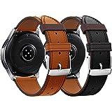 Syxinn Compatible Con Bracelet de Montre Galaxy Watch 46mm/Gear S3 Frontier/Classic 22mm Bande en Acier Inoxydable Métal Spor