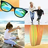 Collage di foto spiaggia