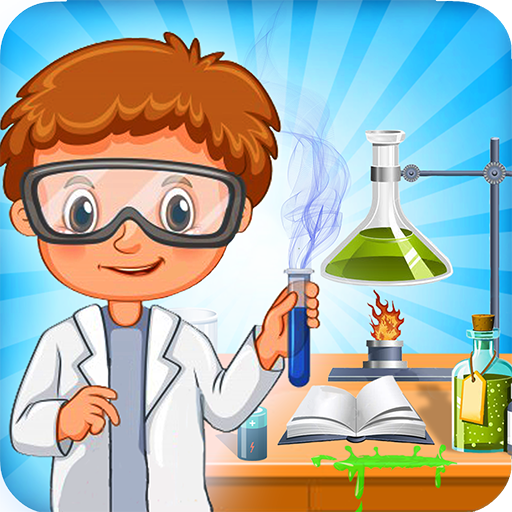 Wissenschaftslabor-Experiment- coole Tricks
