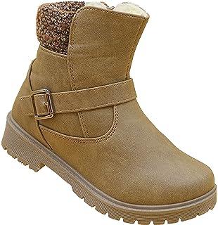 Mädchen Boots Kinder Winter Stiefel Warmfutter Schuhe Gr.31