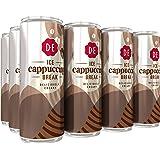 Douwe Egberts IJskoffie Ice Cappuccino, Koffie met Melk en een Vleugje Cacao (12 Blikjes, 100% Arabica Koffie, Ice Coffee), 1