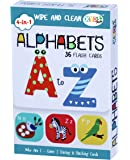 Kyds Play - Alphabets - Wipe & Clean Activity Flash Cards for Kids