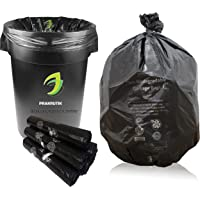 PRAKRUTIK Garbage Bags Biodegradable For Kitchen,Office,Large Size (60cmX81cm/(24 Inchx32 Inch),45 Bag).