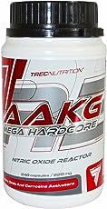 Trec Nutrition AAKG MEGA HARDCORE, Pre-Workout Boosters, 1er Pack (1 x 240 Kapseln)