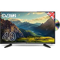 """Cello C4020F/ZF0204 40"""" Full HD LED TV with Built-in DVD player and Freeview T2 HD – UK Made"""