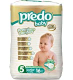 Predo Baby Junior Eco Pack Diapers, 11-25 Kg, 16 Piece, X-Large (White)