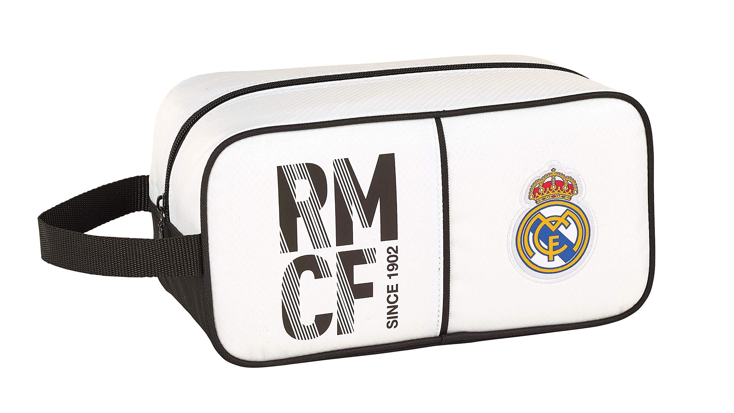 Real Madrid 811854682 2018 Bolsa para Zapatos 29 cm, Blanco