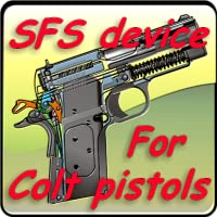 SFS (Safety Fast Shooting) device for Colt pistols