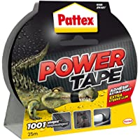 Pattex - 1669824 - Adhésifs Réparation Power Tape Etui - 25 m - Noir
