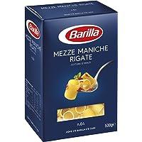 Barilla Pasta Mezze Maniche Rigate, Pasta Corta di Semola di Grano Duro, I Classici, 500 g