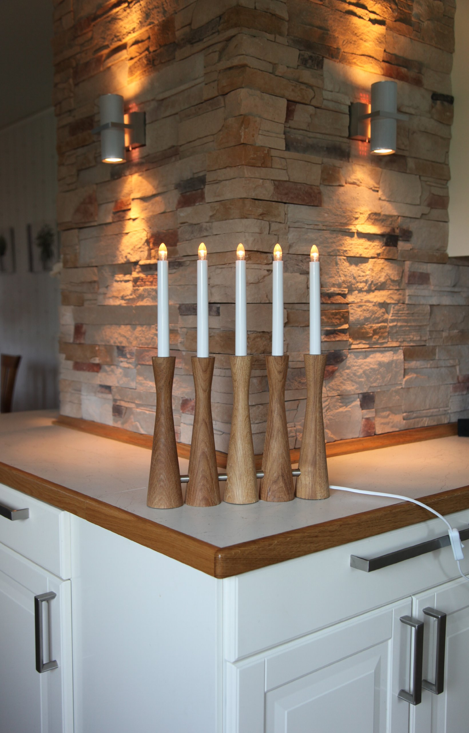Best-Season-LED-FensterleuchterMidja-5-flammig-Material-HolzMetall-Hhe-circa-42-cm-Vierfarb-Karton-natur-195-16