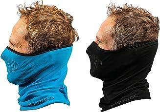 Brubeck X-Pro Halbe Sturmhaube | Klimaregulierend | Gesichtsmaske | Sturmmaske | Funktionskleidung | Atmungsaktiv | Anti-allergisch | Antibakteriell