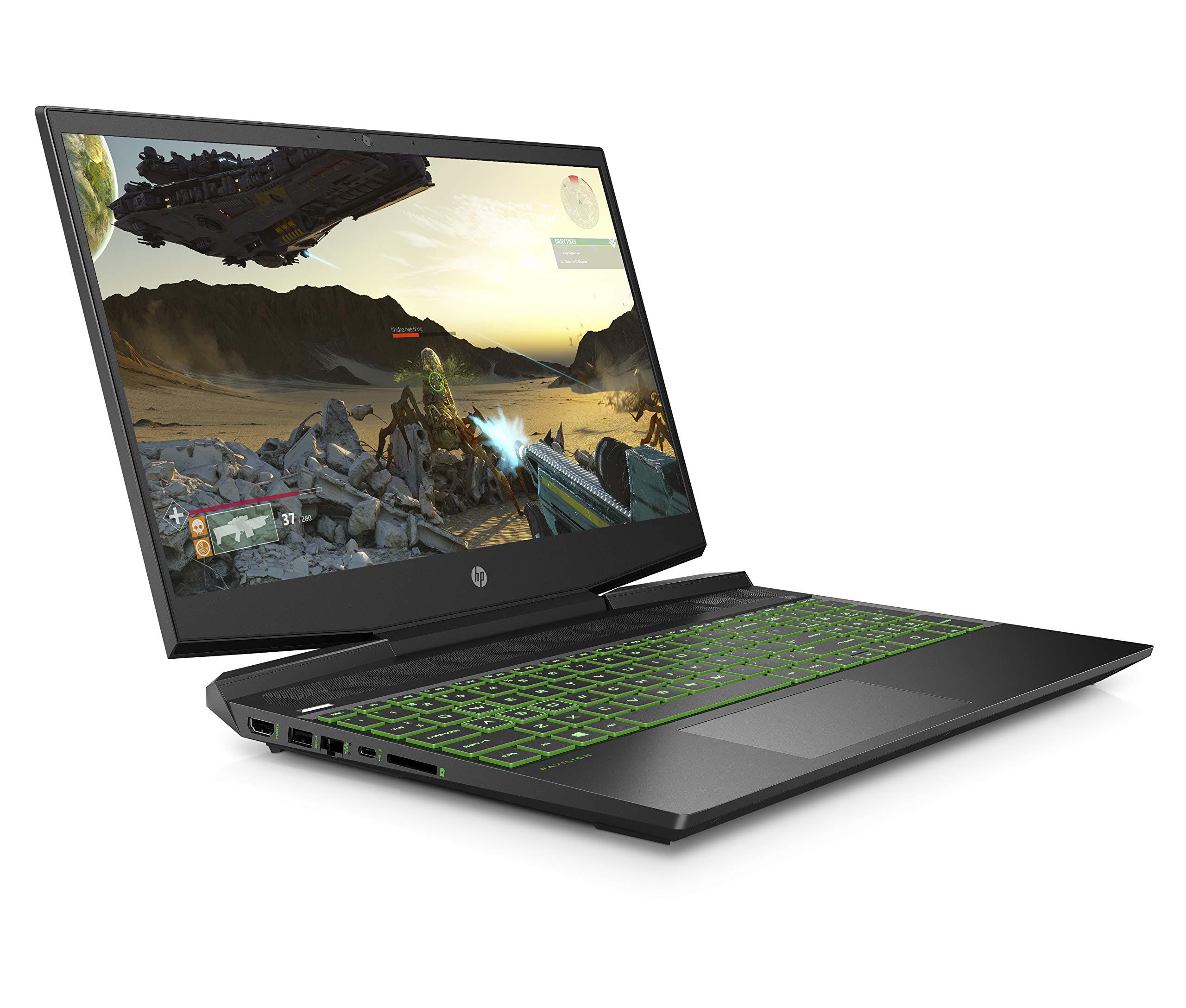 HP Pavilion 15-bc508na 15.6 Inch FHD Gaming Laptop, Intel Core i5-9300H, 8 GB RAM, 512 GB SSD, NVIDIA GeForce GTX 1050…