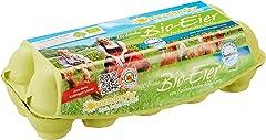 Sonnendorfer Bio-Eier von freilaufenden Hühnern braun Klasse M/L, 10 Stück