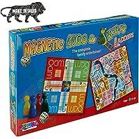 JIZUKA® Magnetic Ludo Game Set & Snake and Ladder Board Game