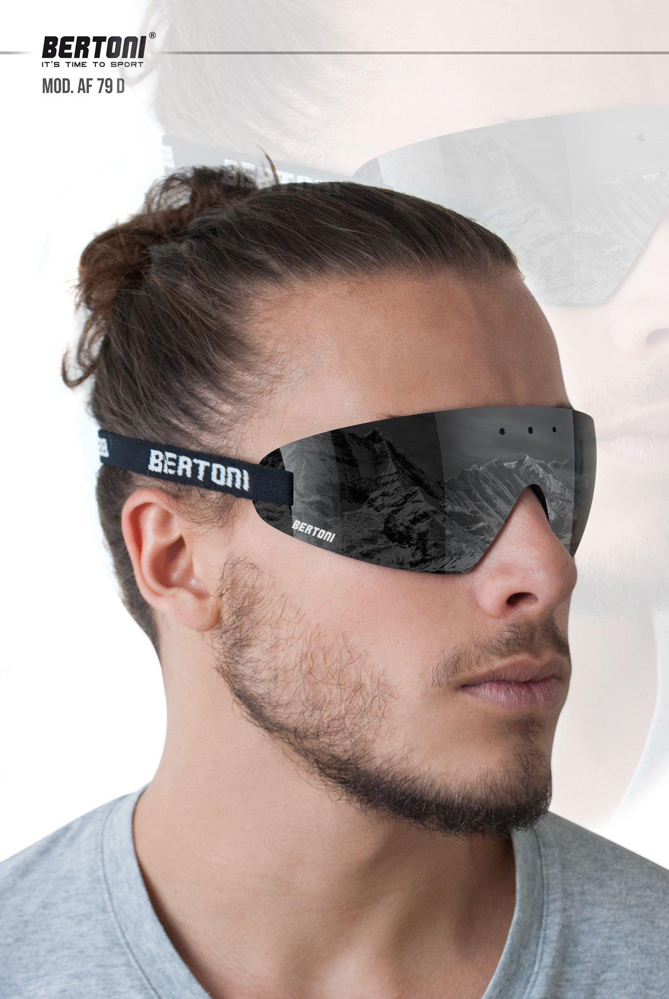 Masque lunettes moto Bertoni AF79 4