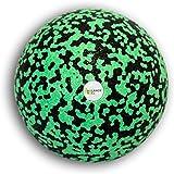 Balance Roll Faszienball zur Trigger Point Massage (12 cm) - Kleiner Faszien Ball für Fitness Training und Sport - Black Foam Kugel