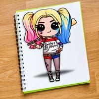 Chibi Cute Girls coloring book Dolls