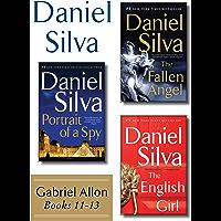 Daniel Silva's Gabriel Allon Collection, Books 11 - 13: Portrait of a Spy, The Fallen Angel, and The English Girl…