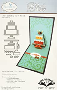 Elizabeth Craft Designs Colore: Grigio in Metallo Motivo Paesaggio Accordion-Fustella