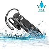 Bluetooth Kopfhörer Kabellos In Ear, HIFEER Bluetooth Headset Dual Rauschunterdrückung mit Mikrofon, V4.1 IPX5 Wasserdicht Ohrhörer High Definition Klang