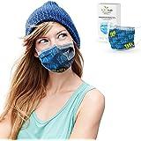 ALB Stoffe® ProtectMe - OP Masken YAY!, 100% Made in Germany, zertifizierte Premium-Atemschutzmaske bedruckt, Medizinische Ge