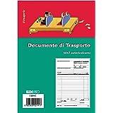 EDIPRO - E5214C - Blocco documento di trasporto 50x2 autoricalcante f.to 14.7x22 cm