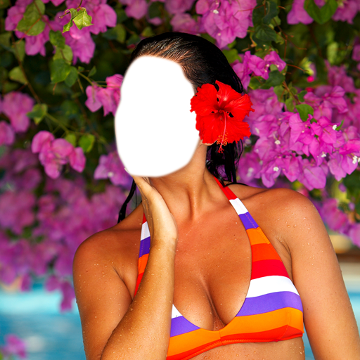 Bikini Photo Montage