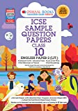 Oswaal ICSE Sample Question Papers Class 10 English Paper 2 Literature Book (For March 2020 Exam)