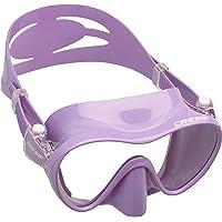 Cressi F1 Mask - Rahmenlose Maske zum Tauchen und Schnorcheln Unisex Erwachsener