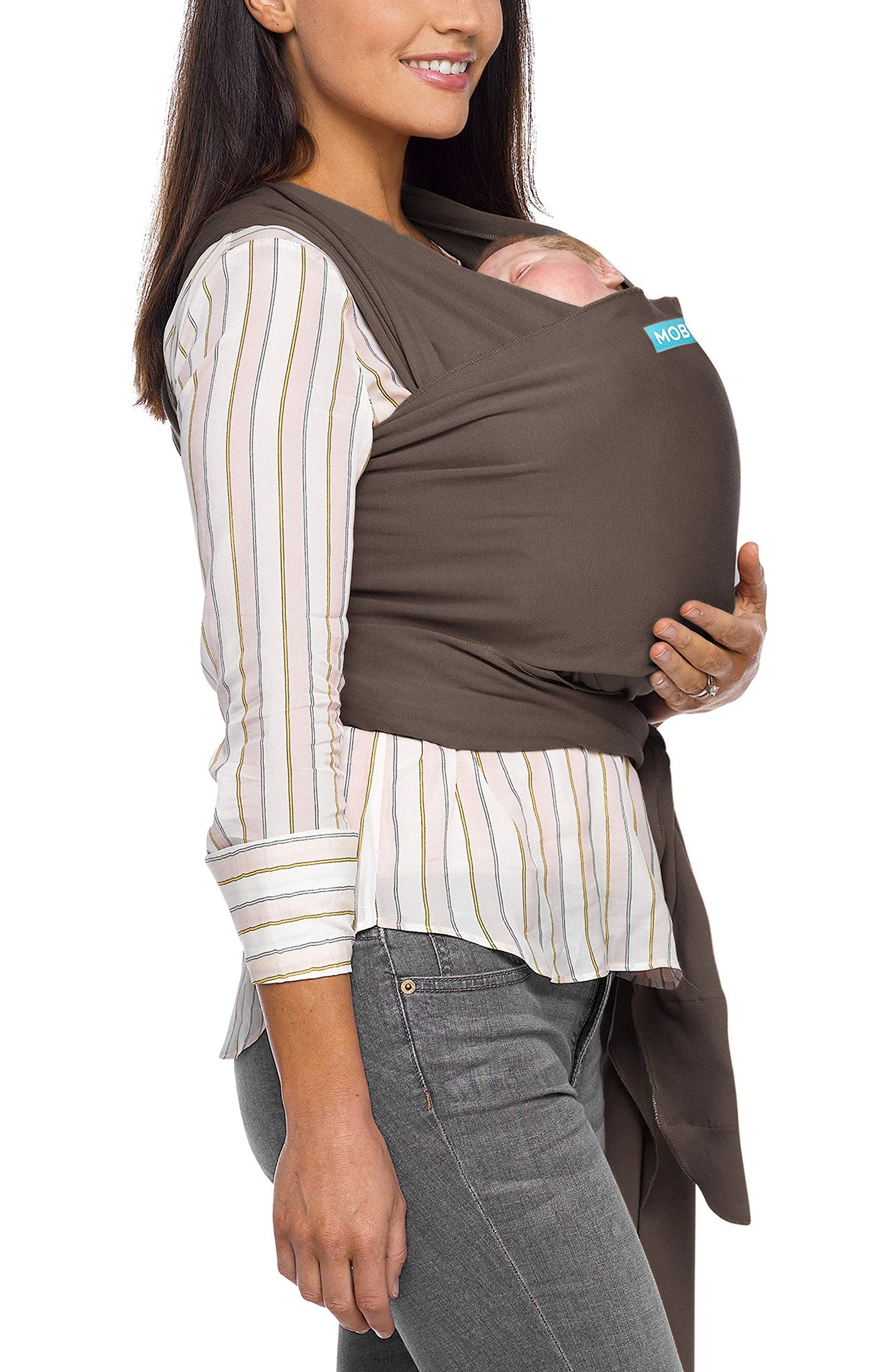 MOBY Classic Baby Wrap Carrier for Newborn to Toddler up to 33lbs, Baby Sling from Birth, One Size Fits All, Breathable Stretchy made from 100% Cotton, Unisex Moby One size fits all Encourages parent/child bonding Ideal for all climates and seasons 28