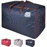 Eono Amazon Brand 100L Sacs pour vêtements, étanche épais surdimensionnée Organiseur Sac de Rangement, Sac de Voyage…