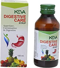 Keva Digestive Care Syrup – 100 ml. (Pack of 4)