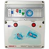 Swimhome Cuadro electrico para Piscina con trasformador 100W AC y Control Remoto ON/Off