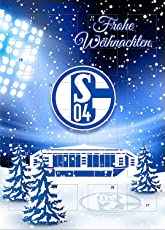 FC Schalke 04 Adventskalender 2018 incl 3 Schalke Aufkleber Logo