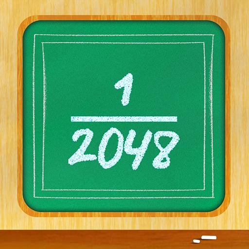 Fraction 1 : 2048 die mathematische Gleichung lösen Pension - Gold (Spiel Kluft)