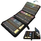 Lapices Colores Profesional, 96pcs Lápices de Dibujo Artístico para Boceto, Lapiz Dibujos con Lapices de Carboncillo y Grafit