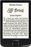 """PocketBook Basic Lux2 Liseuse, mémoire: 8Go, écran: 15,24 cm (6""""), 17formats de Livre Pris en Charge, Noir Obsidienne"""