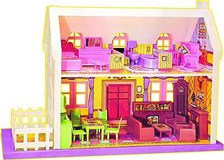 Samaira Toys My Little Doll House, Multi Color