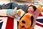 Skylofts Stylish Cute Stuffed Dog Pillow Cushion, 70cm (Brown)